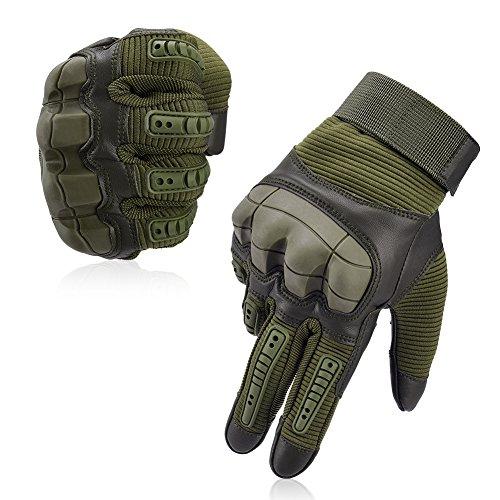 Vbiger Motorradhandschuhe Taktische Handschuhe Vollfinger Handschuhe für Motorrad Fahrrad...