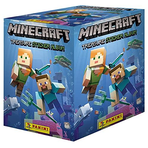 Panini x50 Packs Minecraft Aufkleber-Sammelpackungen (50...