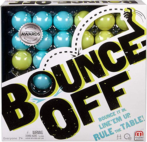 Mattel Games CBJ83 - Bounce Off, lustiges Familienspiel für 2-4...