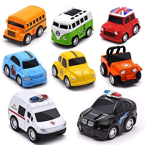 Aufziehautos Spielzeugautos Set