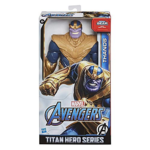 Marvel Avengers Titan Hero Series Blast Gear Deluxe Thanos...