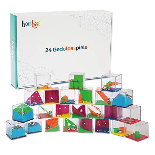 BONBAE® Geduldsspiel – 24 Stück in Einer Box – Fördert die...