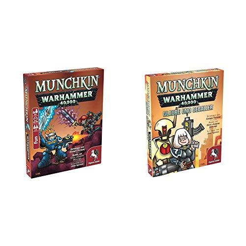 Pegasus Spiele 17015G - Munchkin Warhammer 40.000 + Glaube und...