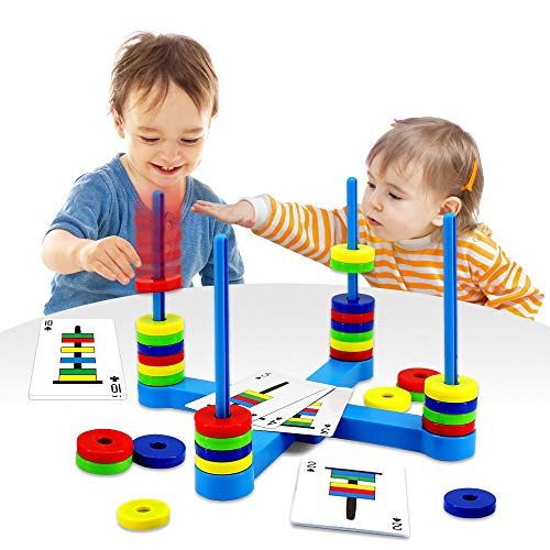 VATOS Brettspiel, Pädagogisches Kinderspiele ab 3 4 5 6 7 8...
