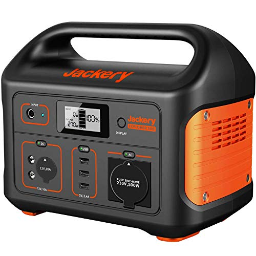 Jackery Tragbare Powerstation Explorer 500 - 518 Wh Batterie...