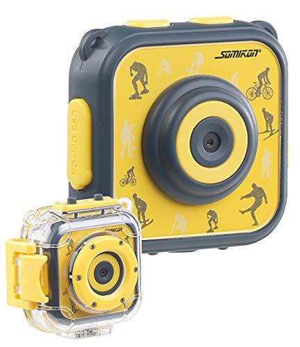 Somikon Kinderkamera Unterwasser: Kinder-HD-Actioncam mit...