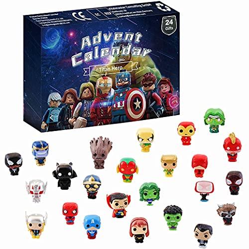 Superhelden Actionfiguren Adventskalender 2021 Spielzeugset,...