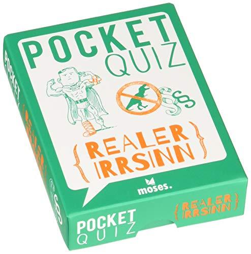 Pocket Quiz Realer Irrsinn   150 Fragen und Antworten zu wirklich...