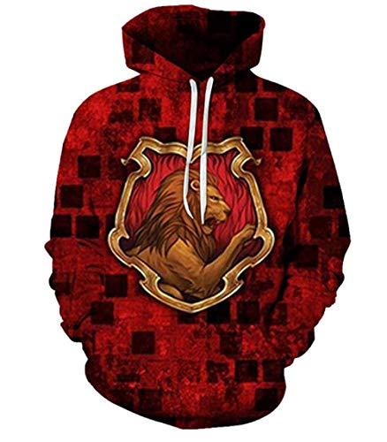 Hogwarts Magic University Fun Hoodie mit Kapuze für Harry Potter...