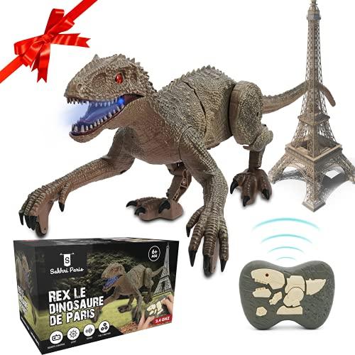 SAKHRI PARIS®– Ferngesteuertes Dinosaurier-Spielzeug – Rex...