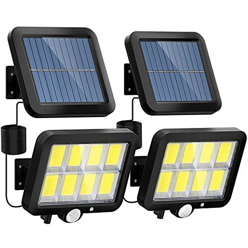 Solarlampen für Außen, LANSOW 160 LED Solarleuchten mit...