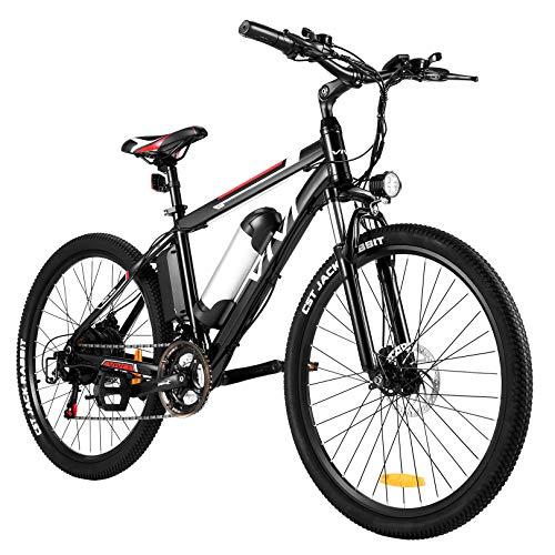 Vivi E Bike Mountainbike Ebike Herren 26 Zoll Elektrofahrrad...