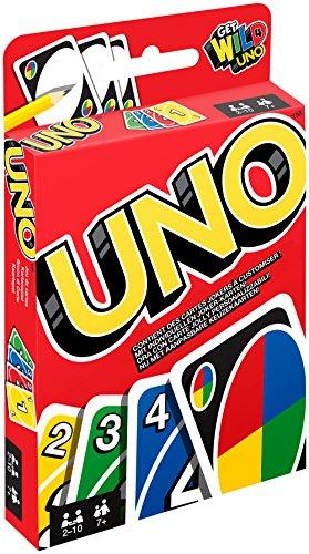 Mattel Games - UNO Kartenspiel und Gesellschaftspiel, geeignet...