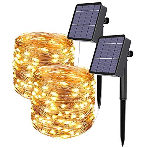 LED Strip,10M (2x5M) RGB Smart WiFi LED Streifen,APP Steuerbar...