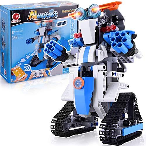 CIRO Roboter Kinder Spielzeug Bausatz Programmierbarer and...