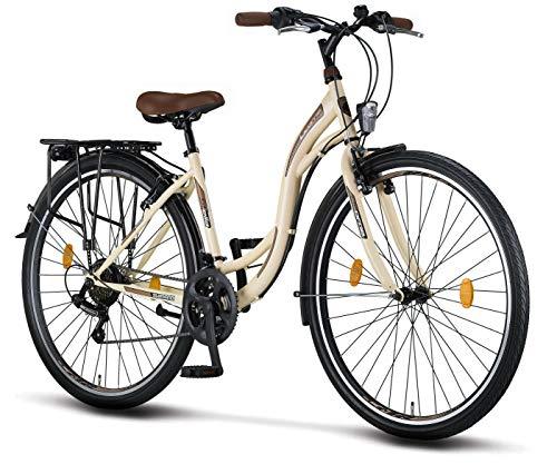 Licorne Bike Stella Premium City Bike in 28 Zoll - Fahrrad für...