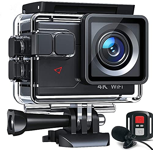 Action Cam AC700 4K 20MP WiFi Unterwasserkamera Ultra HD...