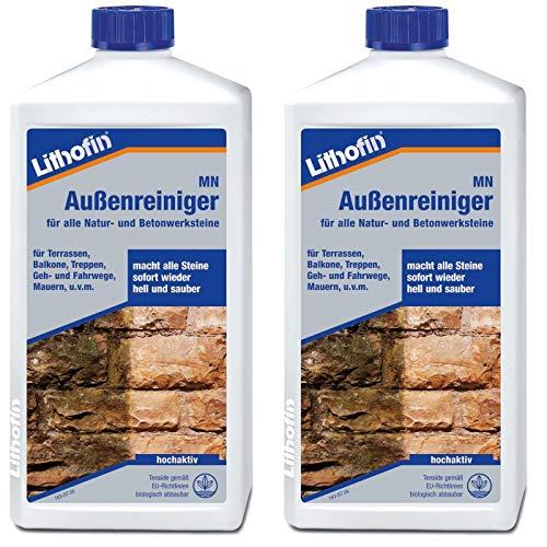 Lithofin MN Außenreiniger 2 l - wirkt schnell und gründlich &...