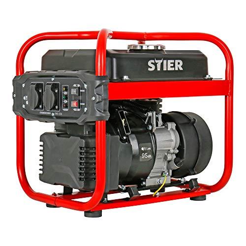 STIER Stromerzeuger SNS-200, Strom Generator, 10l Tankvolumen, 23...