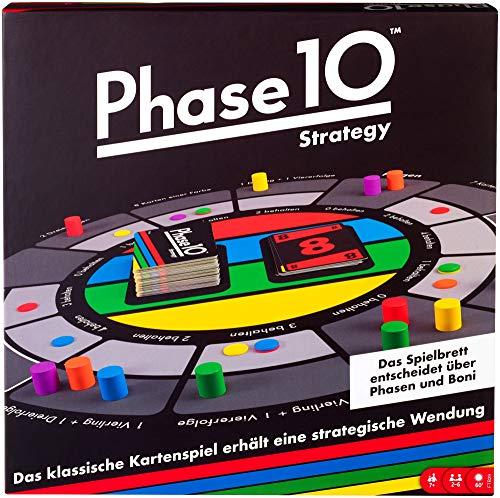 Mattel Games FTB29 Phase 10 Strategy Brettspiel, geeignet für 2...