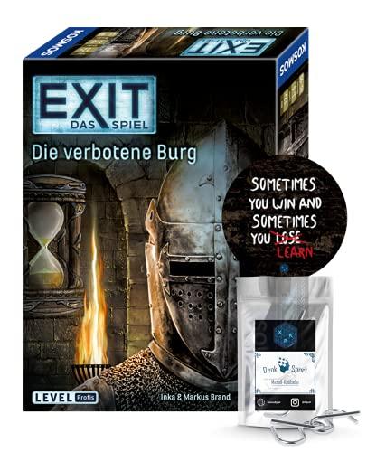 EXIT Das Spiel - Set: Die verbotene Burg + 1x Exit-Sticker + 1x...