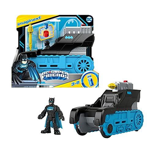 Fisher-Price Imaginext GVW26 - DC Super Friends Bat-Tech-Panzer,...