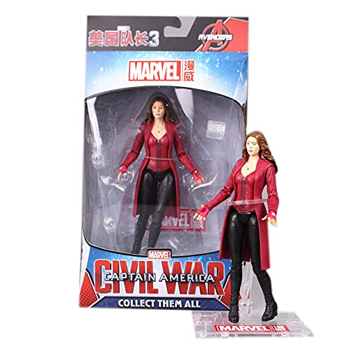 Anime-Modell Scarlet Witch PVC Action Figure Spielzeug Ca. 16cm