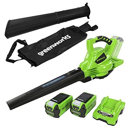 Greenworks Tools 01-0000024227UC GD40BVK2X 24227UC 40 V...