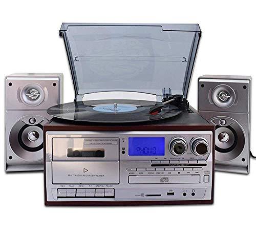 Music Box Plattenspieler Plattenspieler Schallplattenspieler mit...