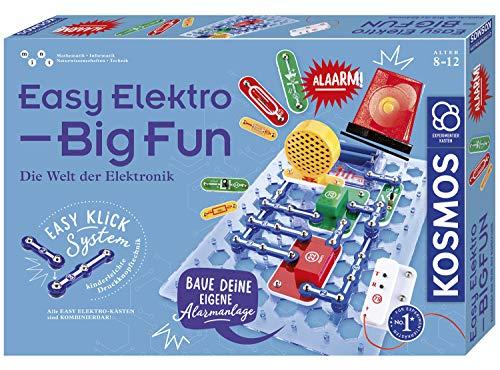 KOSMOS 620608 EasyElektroBigFun Experimentierkasten für...