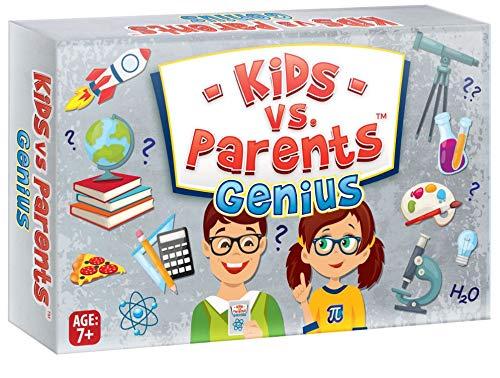 Perfekter Spaß für Kinder, Familienspiel, Kinder vs. Eltern,...