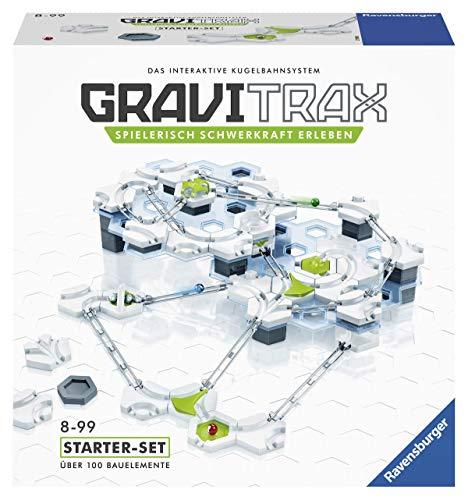Ravensburger 27590 GraviTrax Starterset - Erweiterbare Kugelbahn...