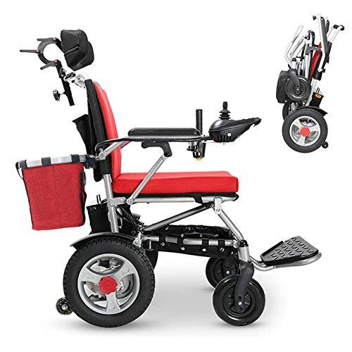 BSJZ Rollstühle Klappbarer Elektrorollstuhl Leichter tragbarer...