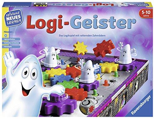Ravensburger 25042 - Logi-Geister - Spielen und Lernen für...