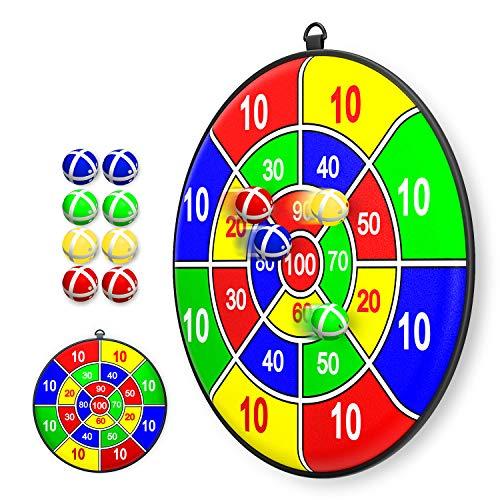 Lbsel Kinderspiel Weihnachten Party Thema Dart Board mit 8...