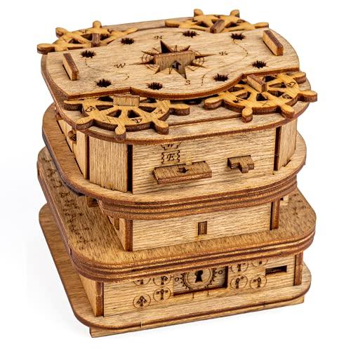 iDventure Cluebox - Davy Jones Locker - Escape Room Spiel -...