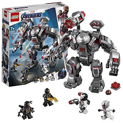 LEGO 76124 Marvel Avengers War Machine Buster Actionfigur, Ant-Man Minifigur, Super Heroes...