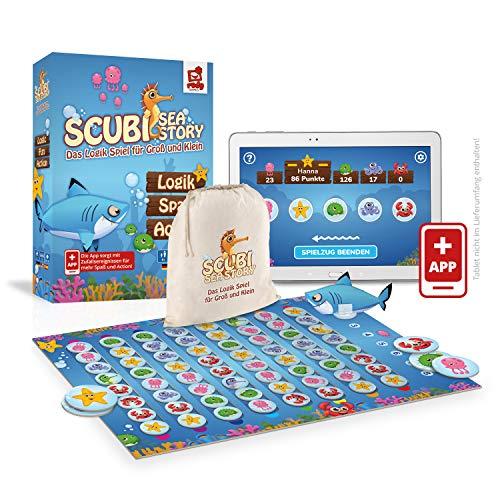 Rudy Games Scubi Sea Story – Interaktives Lernspiel mit App –...