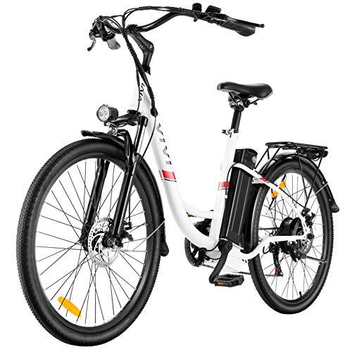 E Bike City Efahrrad 350W Elektrofahrrad Ebike Herren 26 Zoll...