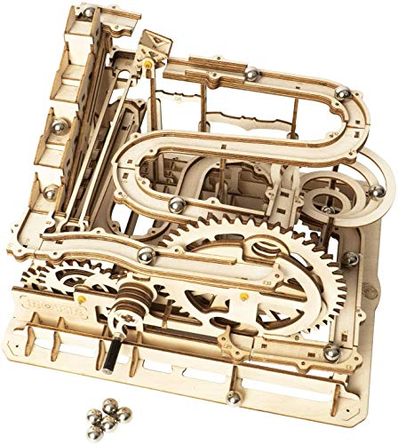 ROKR 3D-Puzzle aus Holz mit Marmorbahn, mechanische Puzzles für...