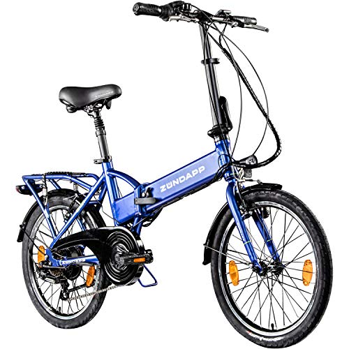 Zündapp Z101 20 Zoll E Bike Faltrad Damen Herren Elektrofahrrad...