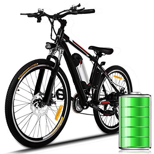 Eloklem E-Bike Mountainbike Elektrofahrrad mit 21-Gang Shimano...