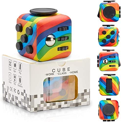 Yetech RainbowAnti-Stress Würfel Spielzeug,Anti-Estrees...
