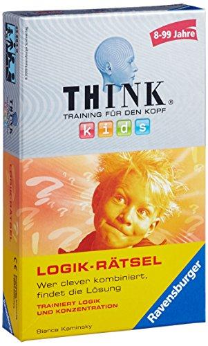 Ravensburger 23294 - Think Kids Logik-Rätsel, Mitbringspiel für...