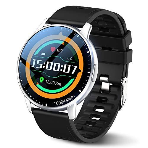 LEMFO Smartwatch Herren 1,3-Zoll-Touchscreen Smart Watch IP68...