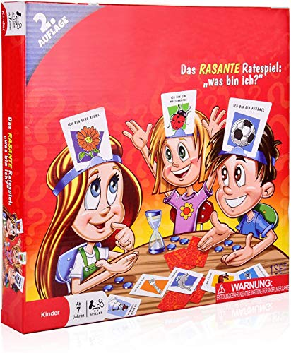 WAS BIN ICH - COSMOERY Brettspiele Spieleklassiker Kinderspiel...