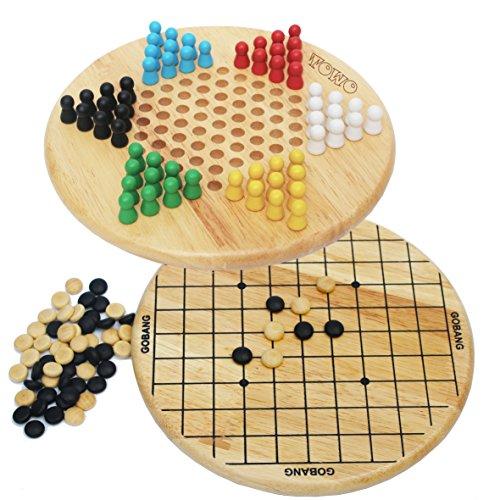 Toys of Wood Oxford Strategiespiele Halma und chinesisches Spiel...
