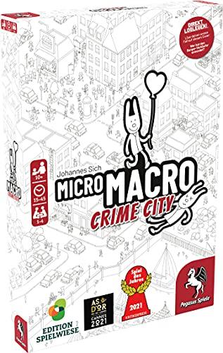 MicroMacro: Crime City (Edition Spielwiese) **Spiel des Jahres...