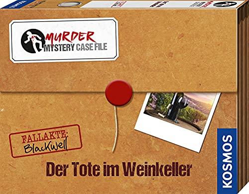 KOSMOS 682163 Murder Mystery Case File - Der Tote im Weinkeller,...