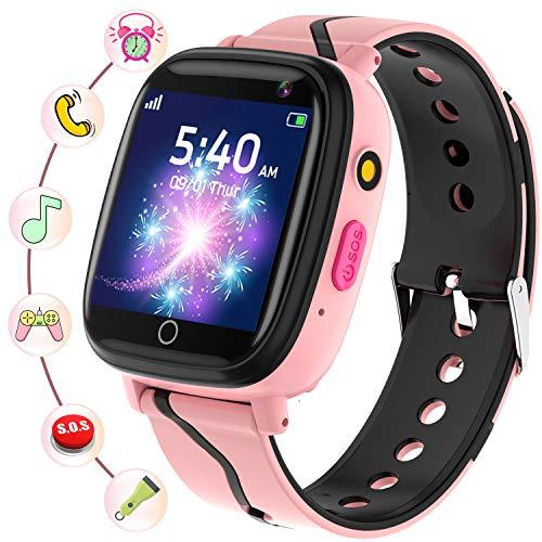 Smartwatch Kinder - Smartwatches Telefon mit Musik SOS Spiele...